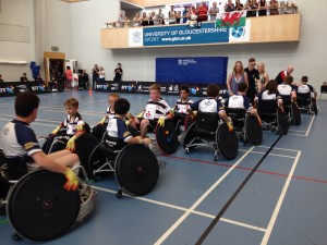 great britain wheelchair rugby photo library