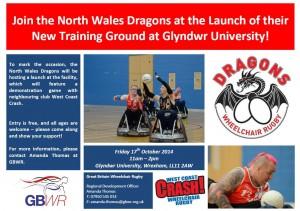 Dragons launch at Glyndwr